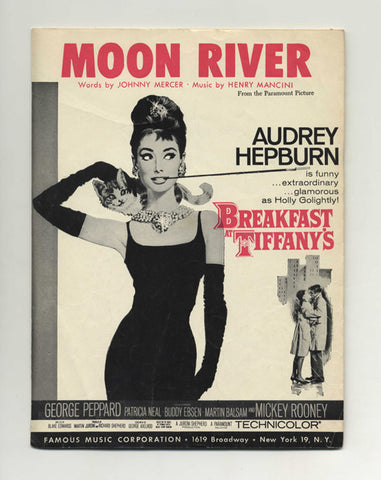 Moon River by Audrey Hepburn Breakfast at Tiffany's