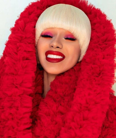 The Makeup Looks You Will See Everywhere in 2019 Cardi B wearing red makeup