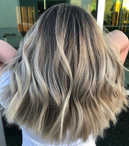The Most Effortless Beauty Trends to Try in 2019 smoked marshmallow hair blonde