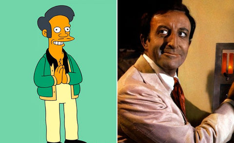 The real-life inspiration behind 13 of your favorite Simpsons characters Apu
