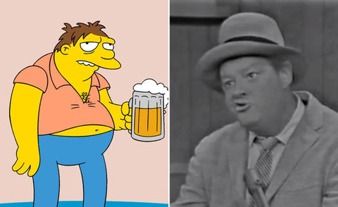 The real-life inspiration behind 13 of your favorite Simpsons characters Barney