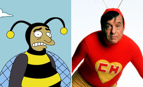The real-life inspiration behind 13 of your favorite Simpsons characters Bumblebee man