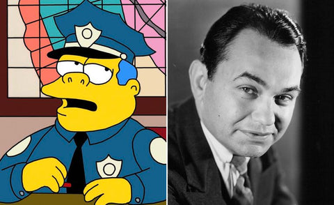 The real-life inspiration behind 13 of your favorite Simpsons characters Chief Wiggum