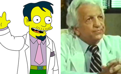 The real-life inspiration behind 13 of your favorite Simpsons characters Dr Nick