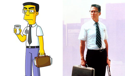 The real-life inspiration behind 13 of your favorite Simpsons characters Frank Grimes