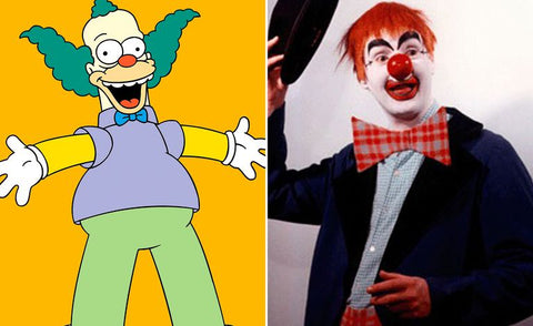 The real-life inspiration behind 13 of your favorite Simpsons characters Krusty The Clown