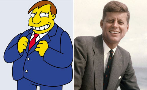 The real-life inspiration behind 13 of your favorite Simpsons characters Mayor Quimbu