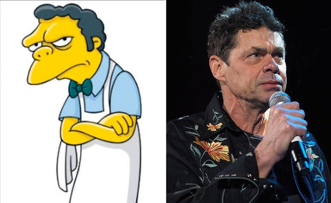 The real-life inspiration behind 13 of your favorite Simpsons characters Moe