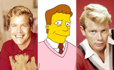 The real-life inspiration behind 13 of your favorite Simpsons characters Troy Mclure