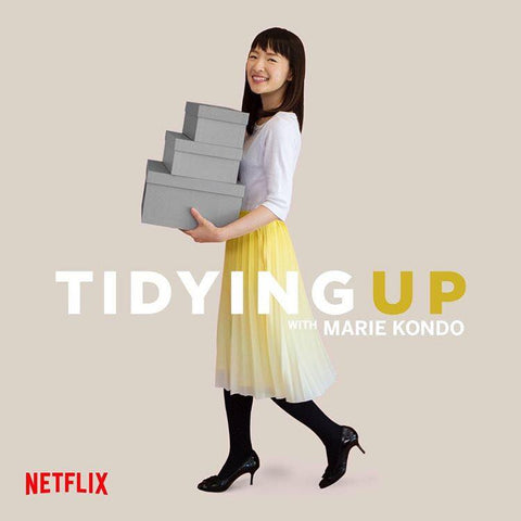 This Netflix Show Will Teach You How to Find Joy In Your Closet Marie Kondo