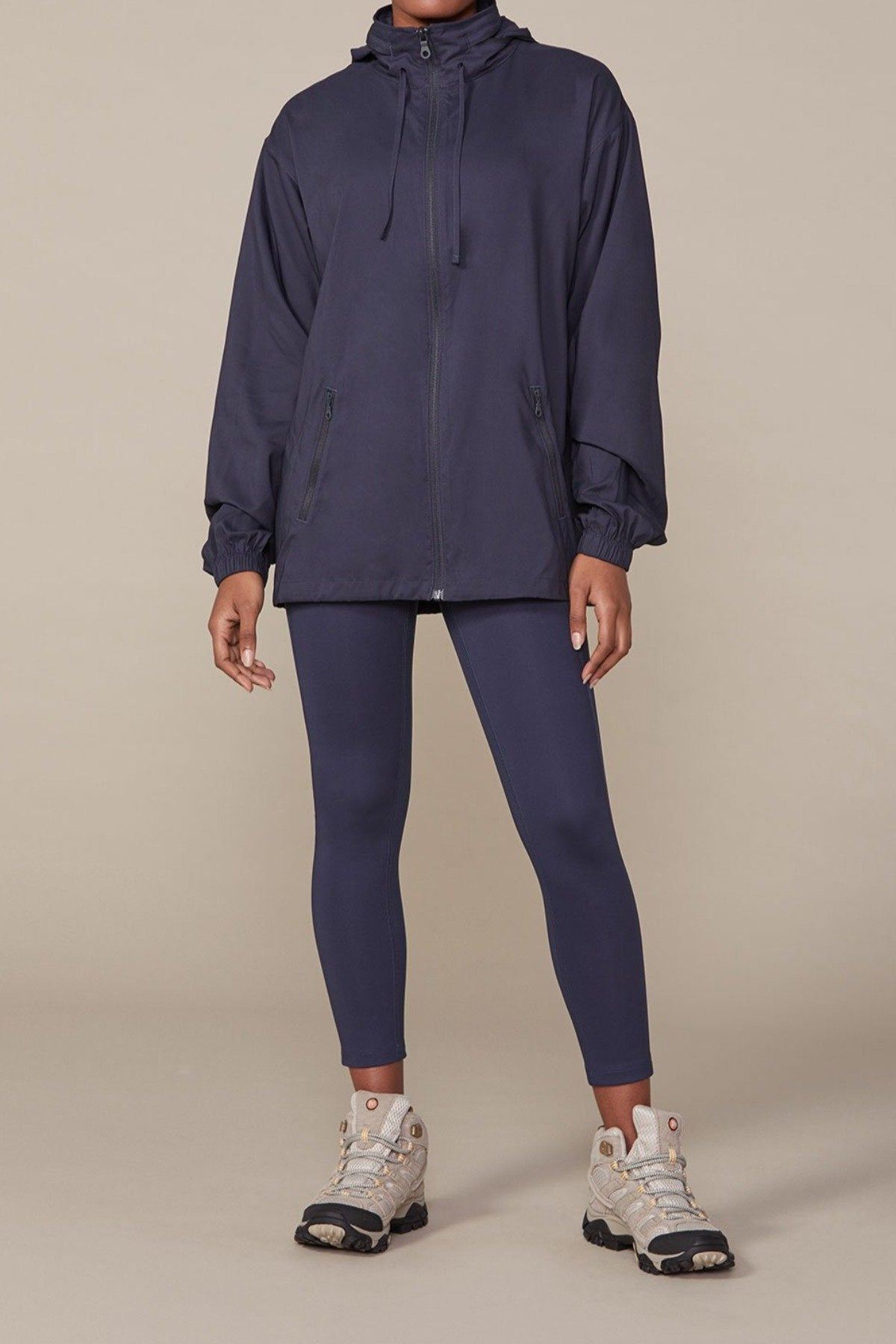 Midnight Peregrine Windbreaker