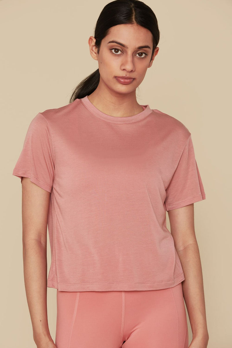Dusty Rose Jane Tee