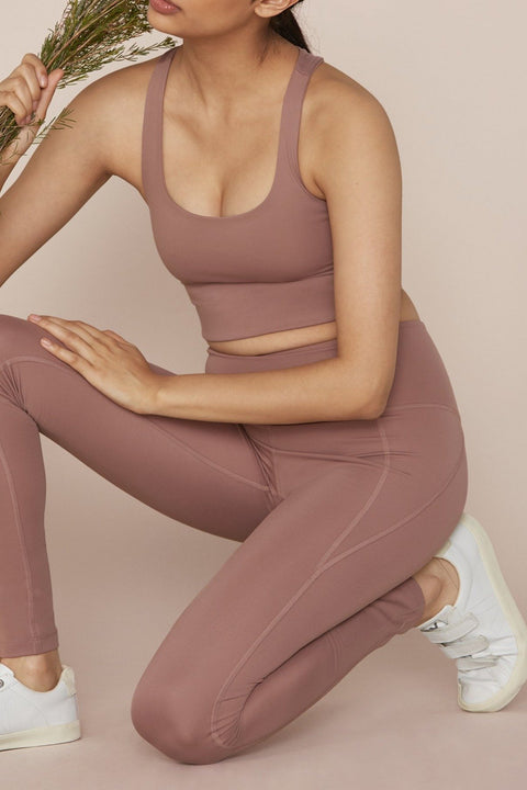 Rose Quartz Compressive High-Rise Legging