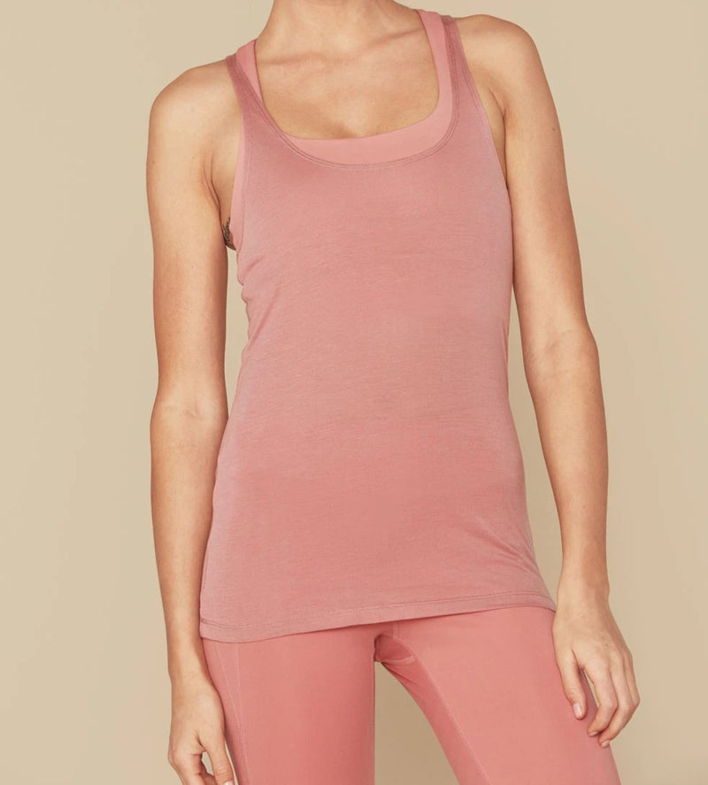 Dusty Rose Celia Tank