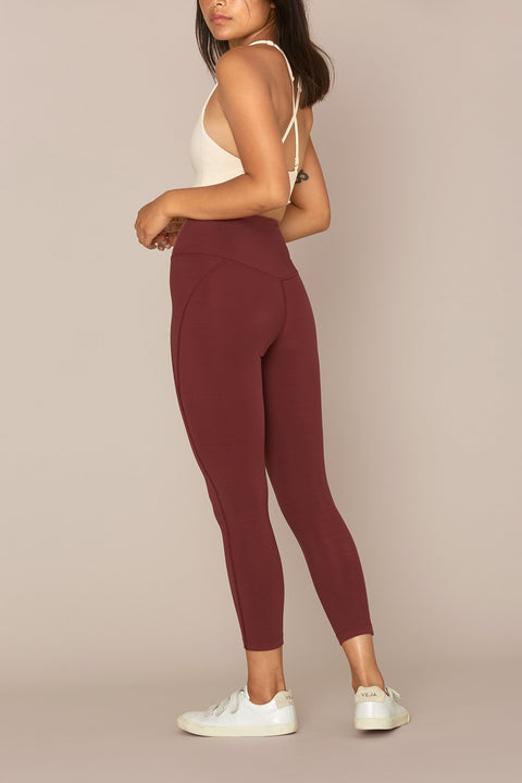 Wine LITE High-Rise Legging