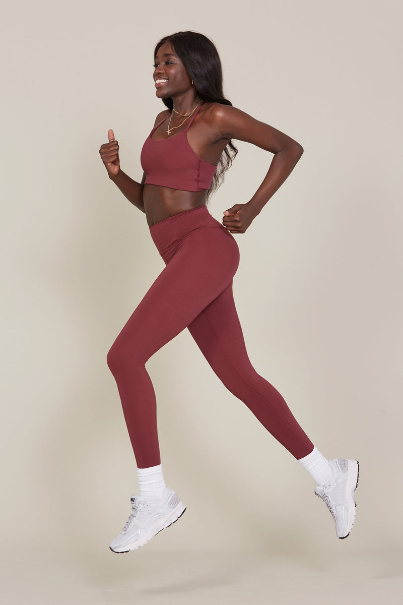 Wine Seamless LITE High-Rise Legging
