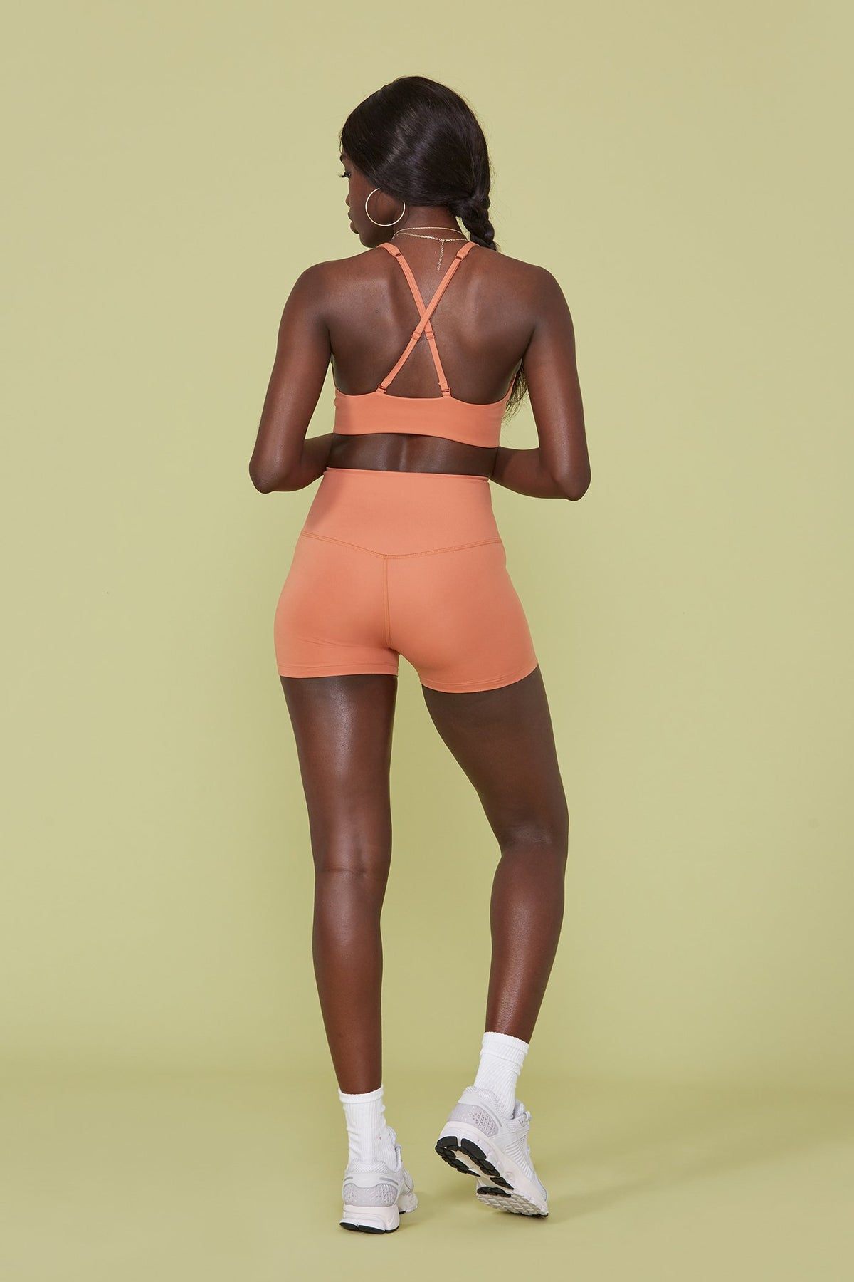 Apricot Seamless High-Rise Run Short