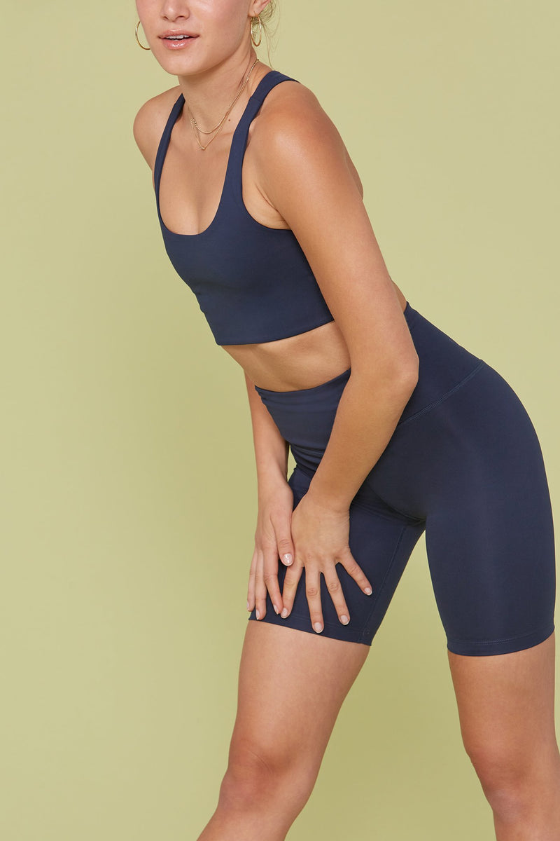 Midnight Seamless High-Rise Bike Short