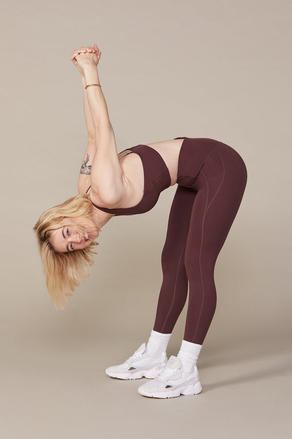 Cocoa Compressive High-Rise Legging Image