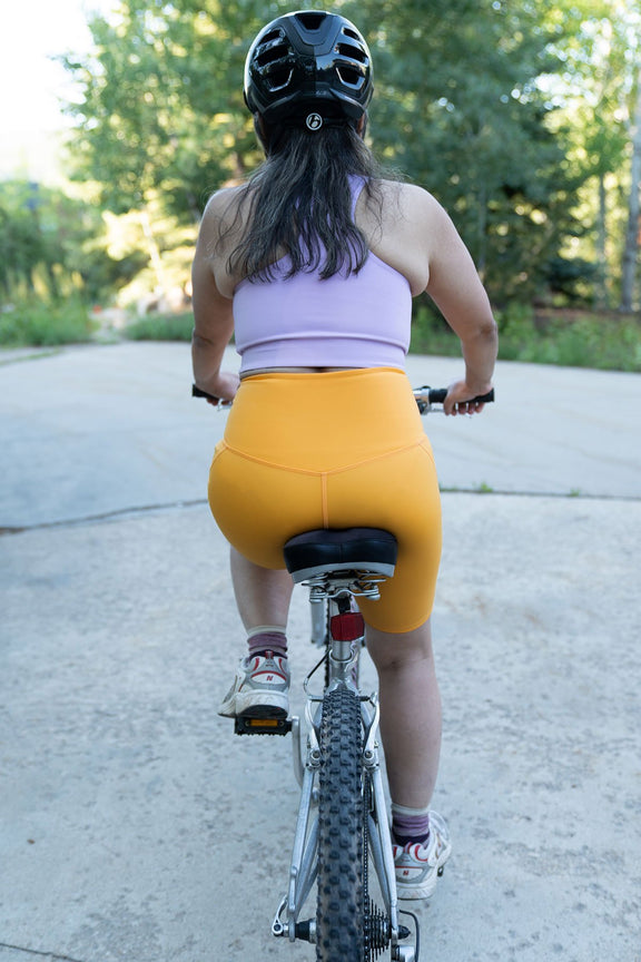Marigold High-Rise Bike Short