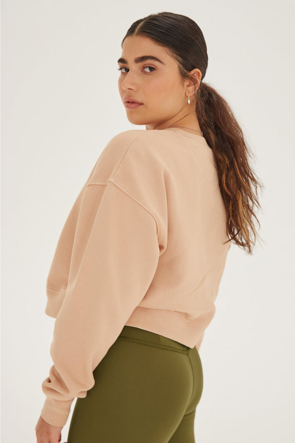 Canyon Cropped Sweatshirt
