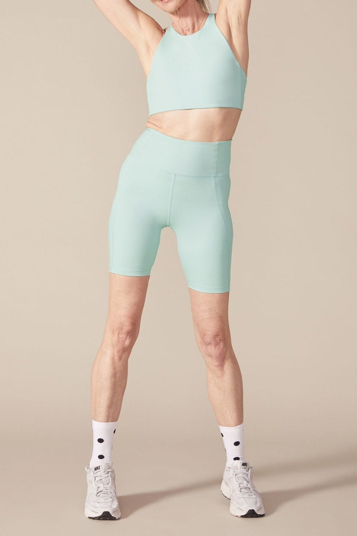 Foam High-Rise Bike Short