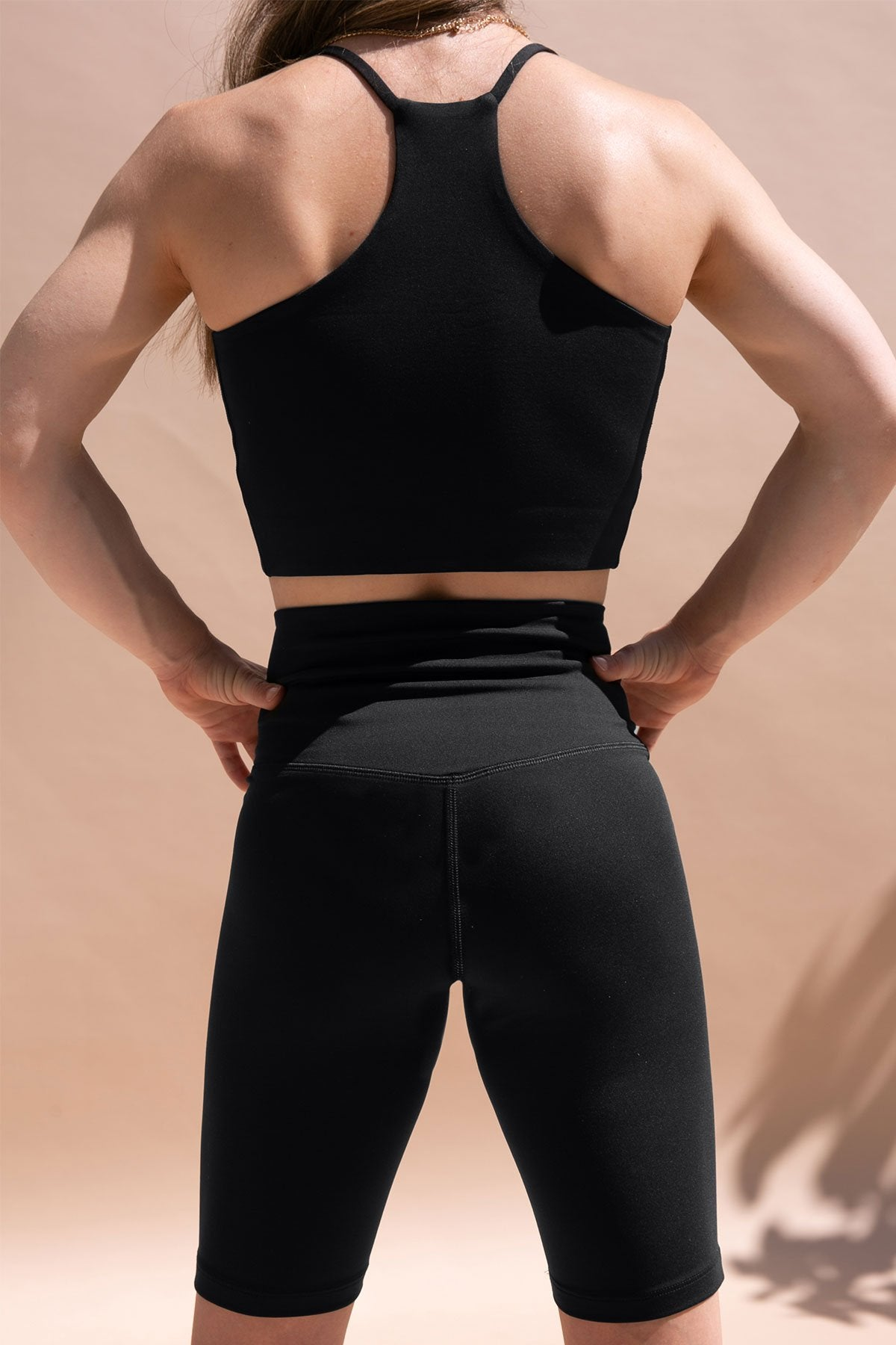 Black FLOAT Seamless Bike Short