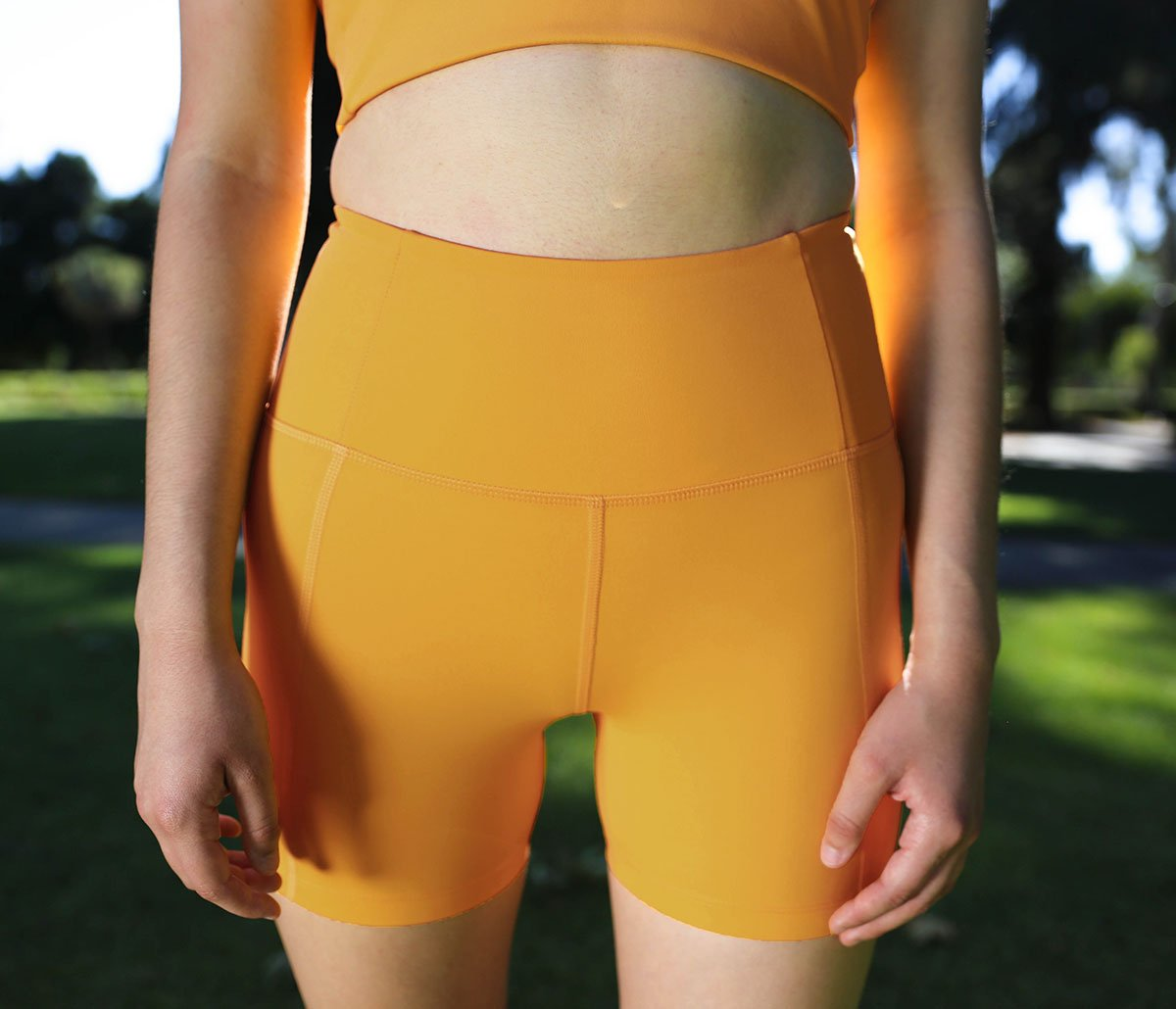 Marigold High-Rise Run Short
