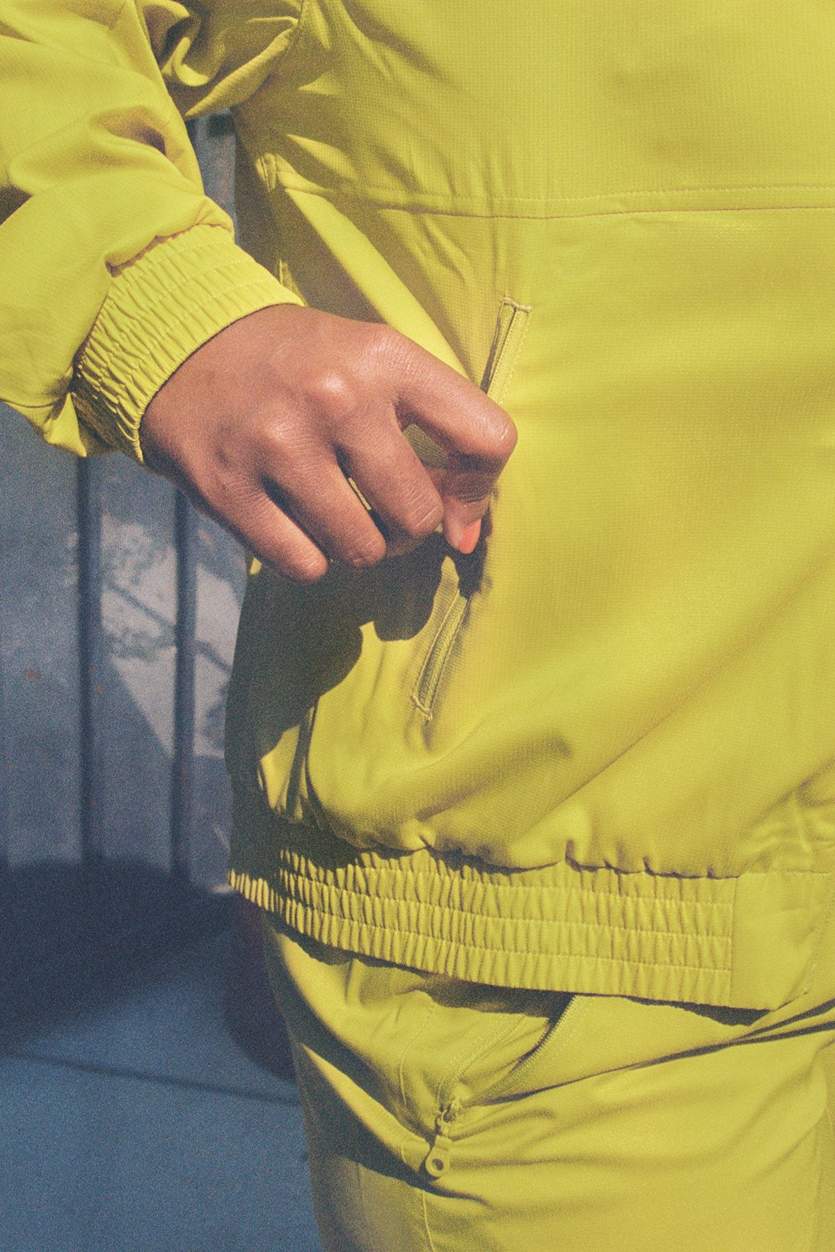 Chartreuse Summit Track Jacket