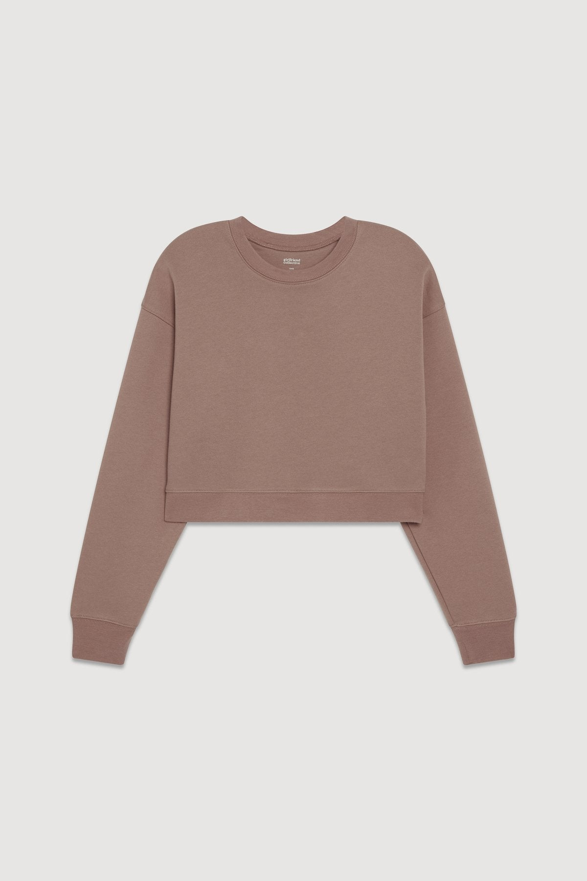Taro Cropped Sweatshirt