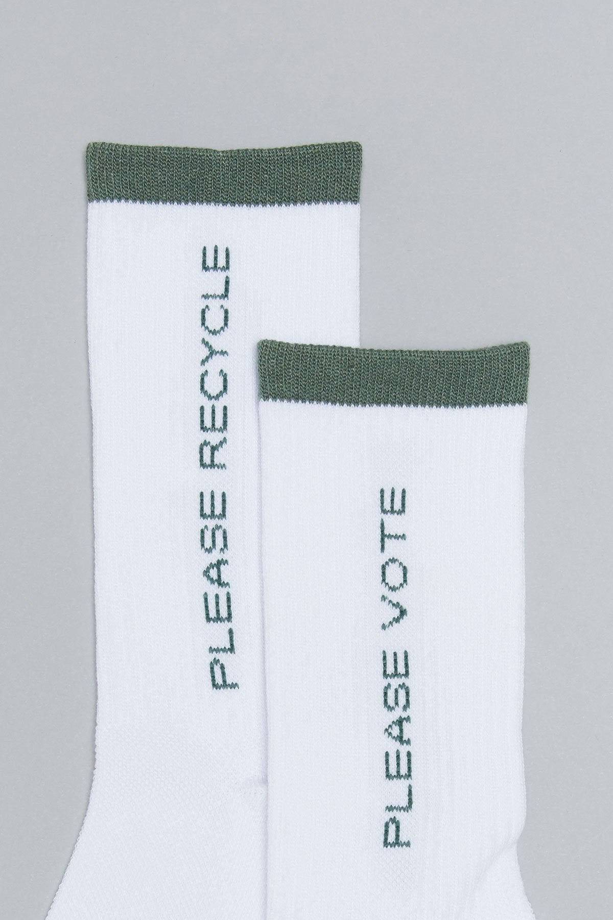 When We All Vote x Girlfriend Collective Crew Sock