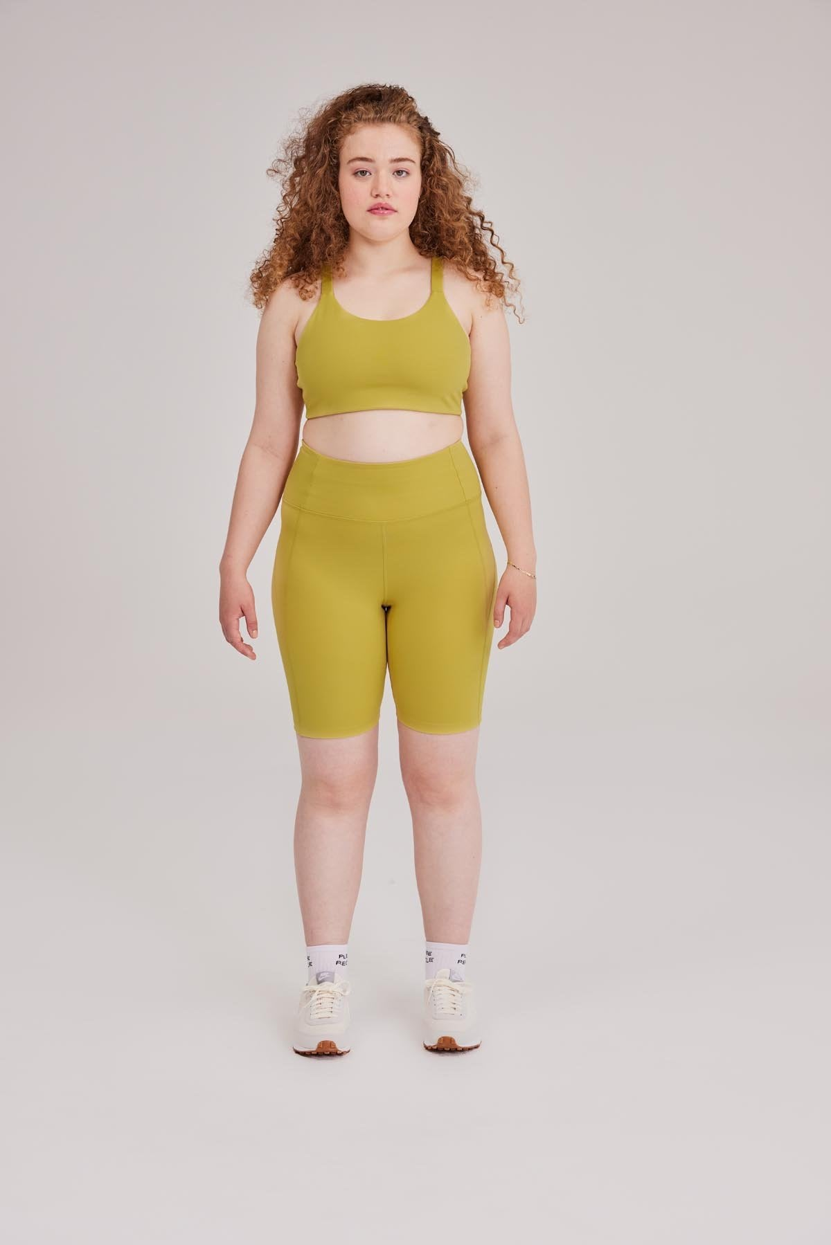 Pear High-Rise Bike Short