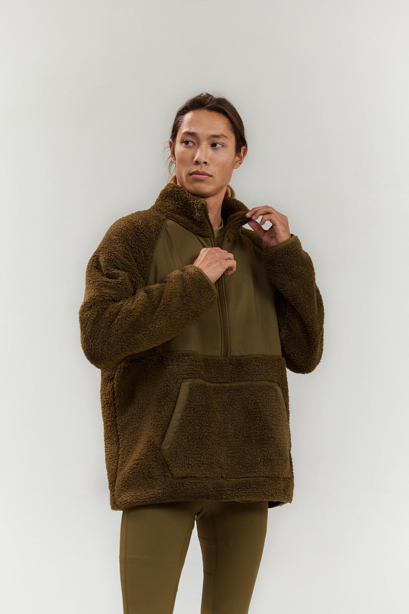 Forest Everyone Half-Zip Fleece