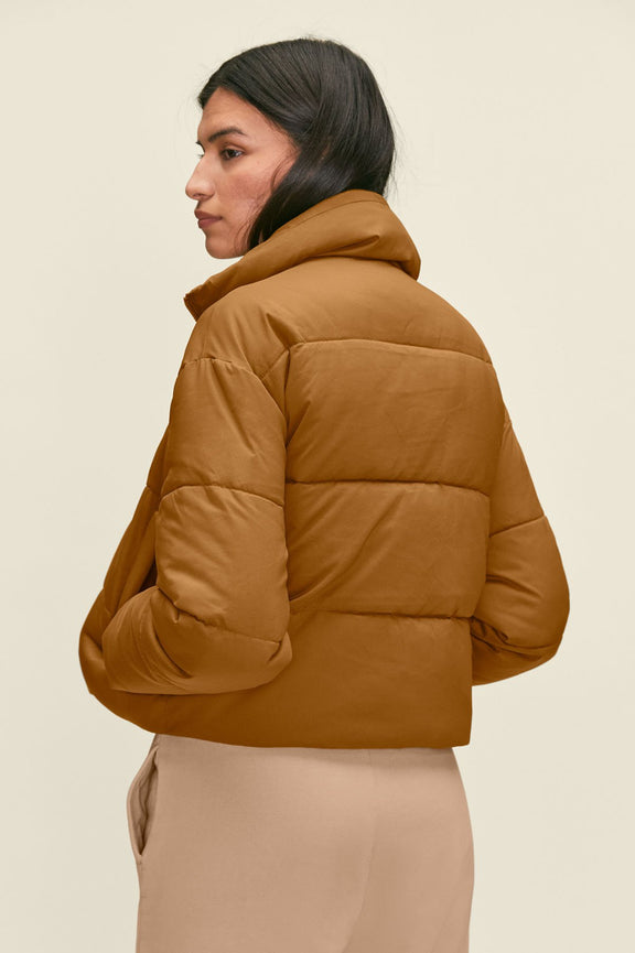 Saddle Crop Puffer