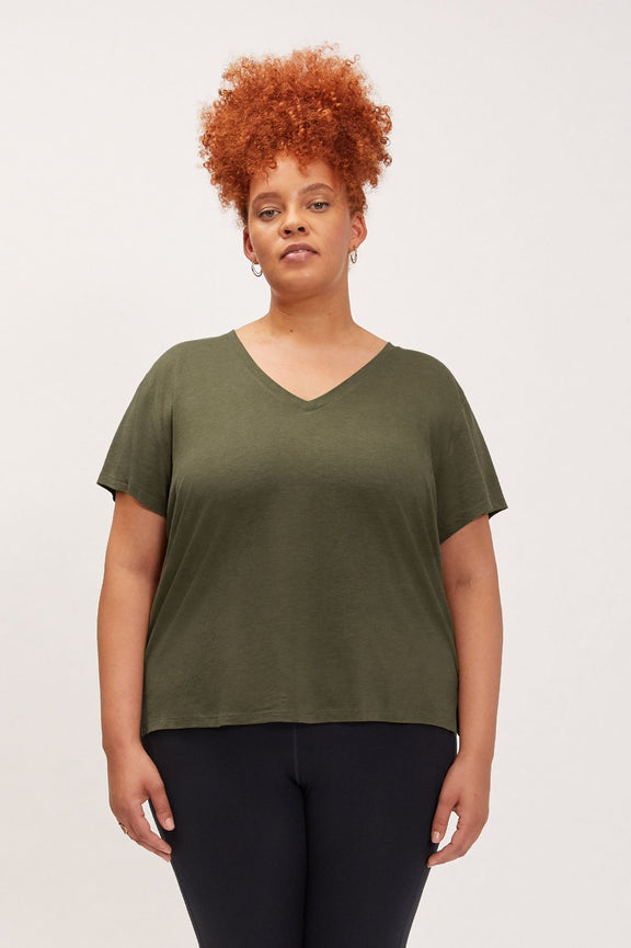 Fern Eva V-Neck Tee