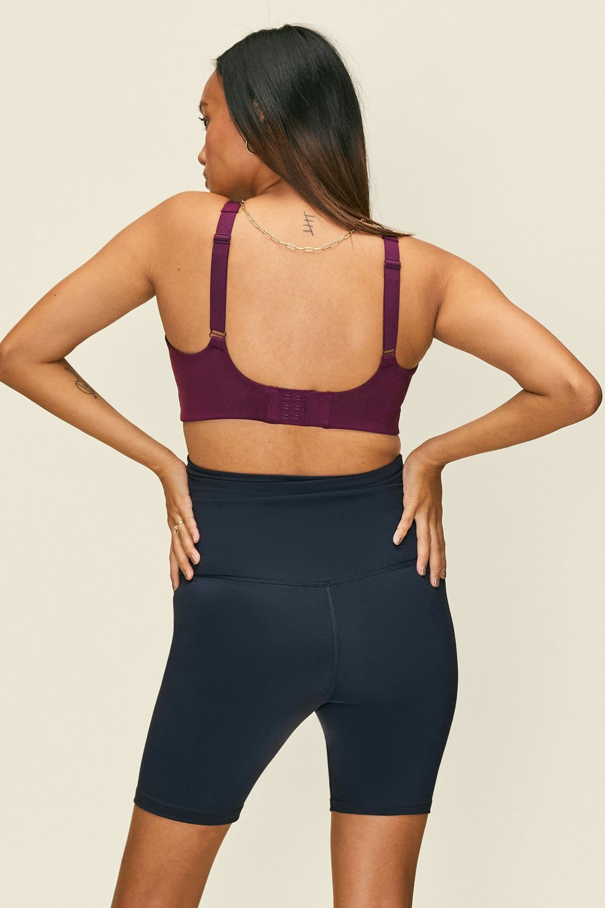 Midnight Seamless Maternity Bike Short
