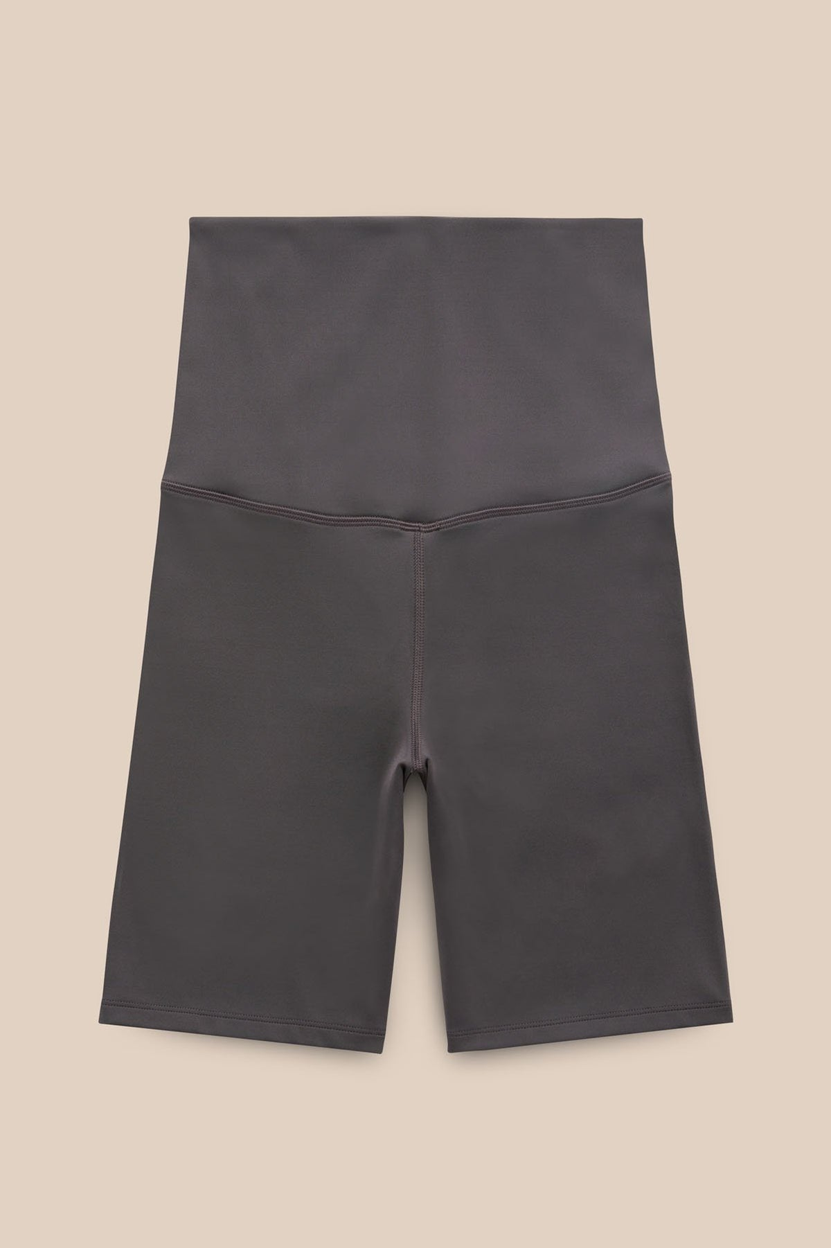 Smoke Seamless Maternity Bike Short