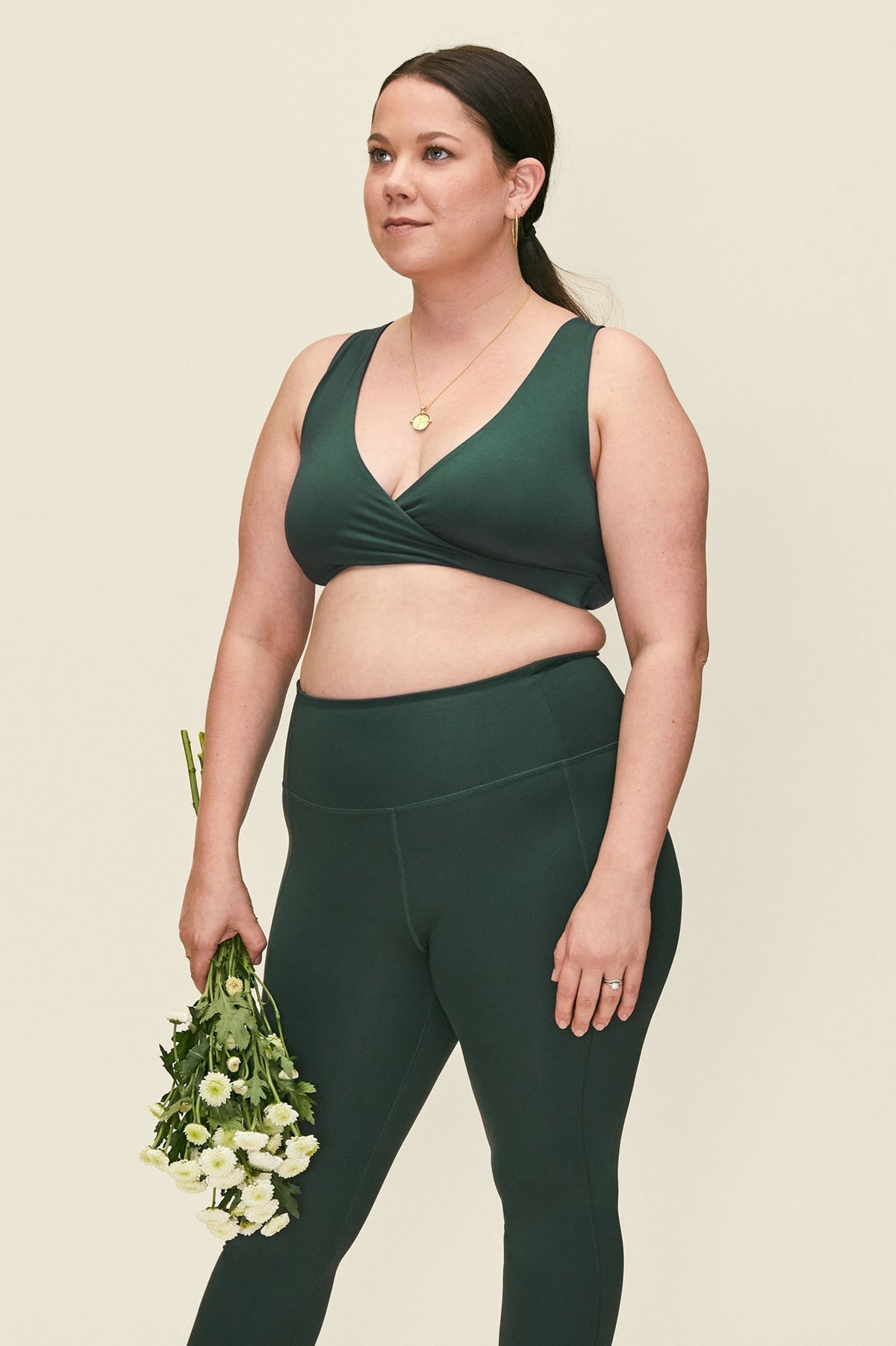 Moss May Crossover Nursing Bra