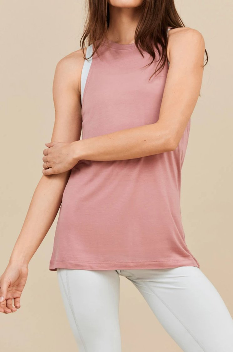 Dusty Rose Stella Tank
