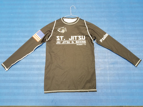 Street Jitsu Competition Rash Guard Long Sleeve