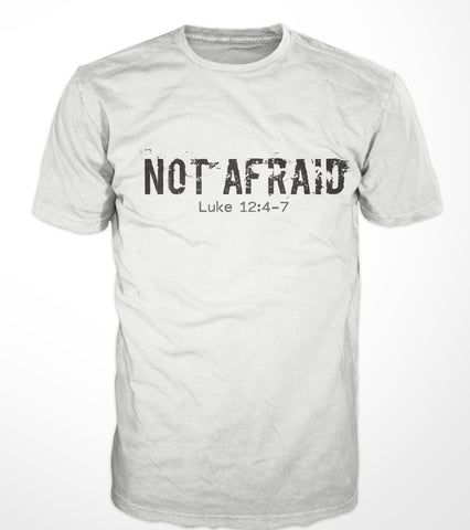 NOT AFRAID t-shirt