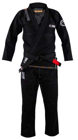 Sekai 2.0 BJJ Gi Black #8803R Men's and Women's