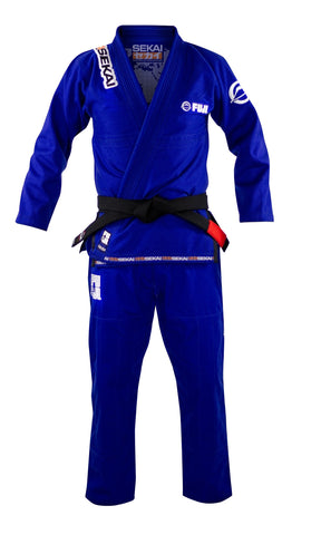 Sekai 2.0 BJJ Gi Blue #8802R Men's and Women's
