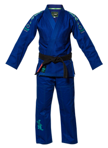 FUJI Sports Kids Gi Blue Blossom #7017