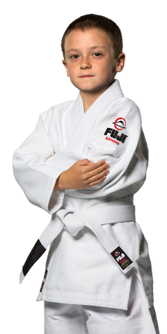 FUJI All Around Kids BJJ Gi White #7000