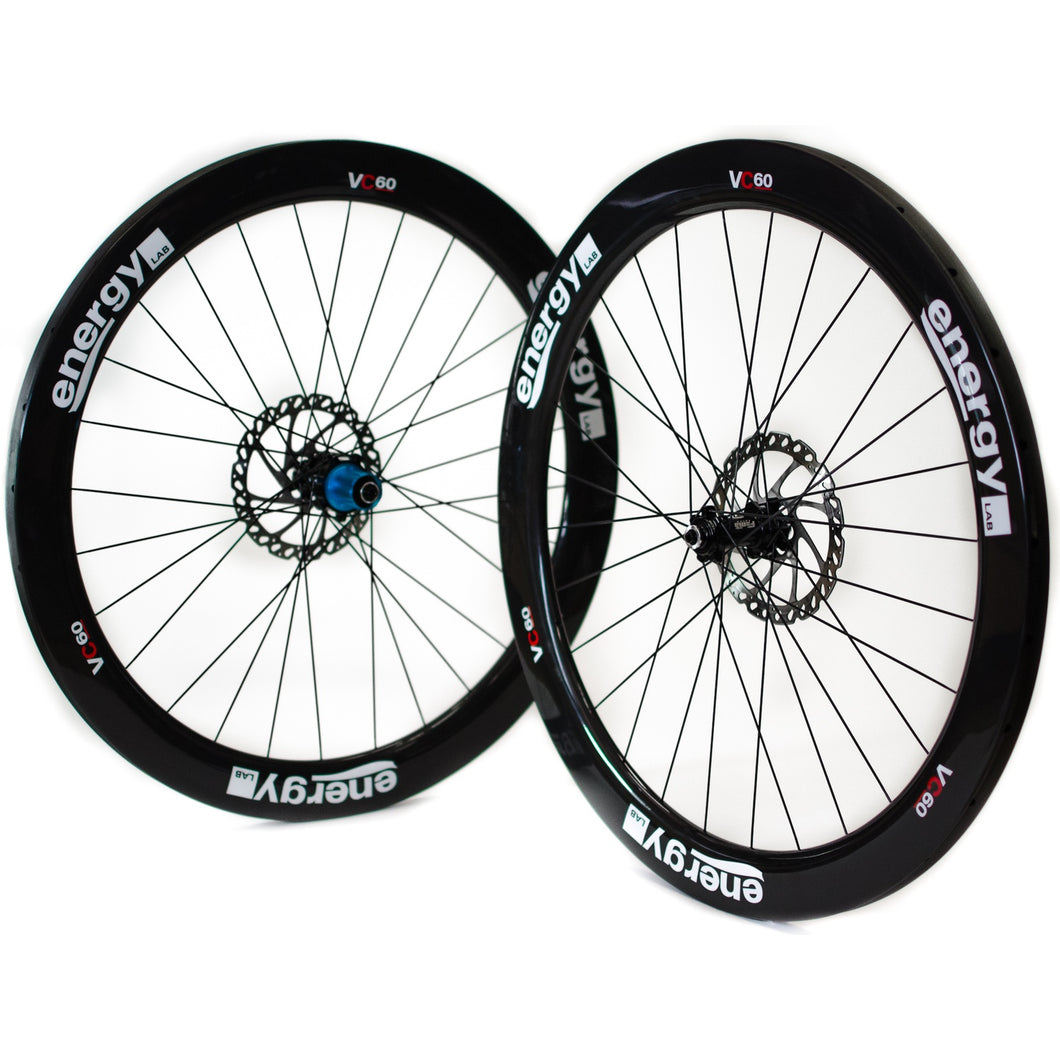 VCD 60 Gravel Disc Past Logo Set