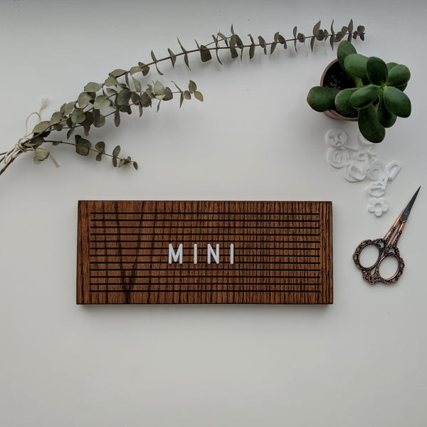 "The Mini Walnut - 4"" x 10"""