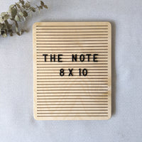"*NEW* The Note Birch - 8"" x 10"""