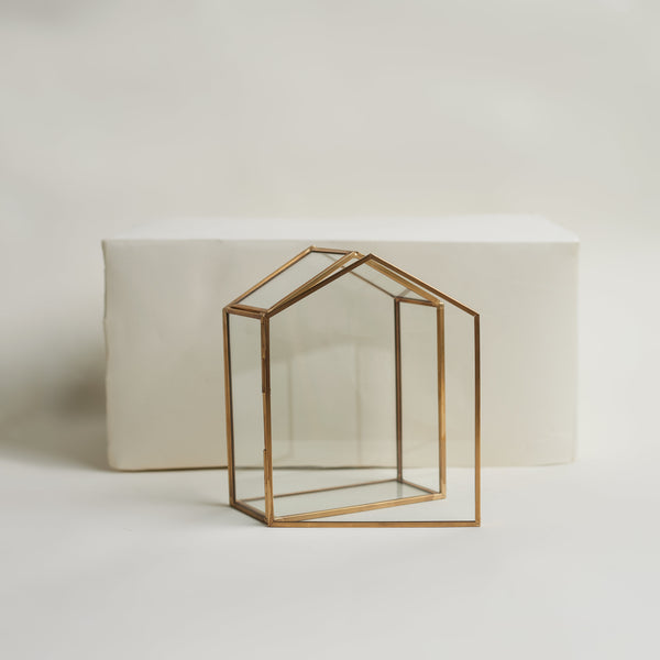 Glass House Keepsake Box