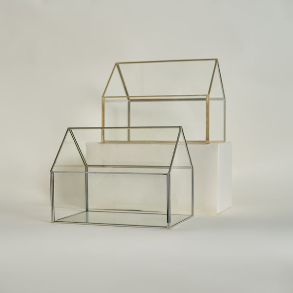 Glass House Card Box